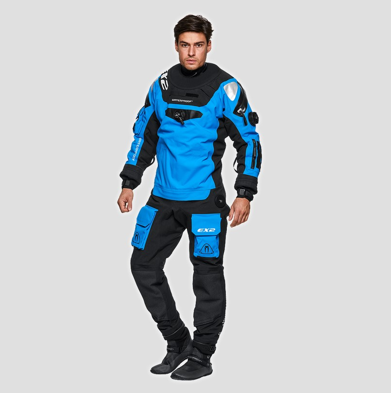 Waterproof EX2 blau Gr. XXL