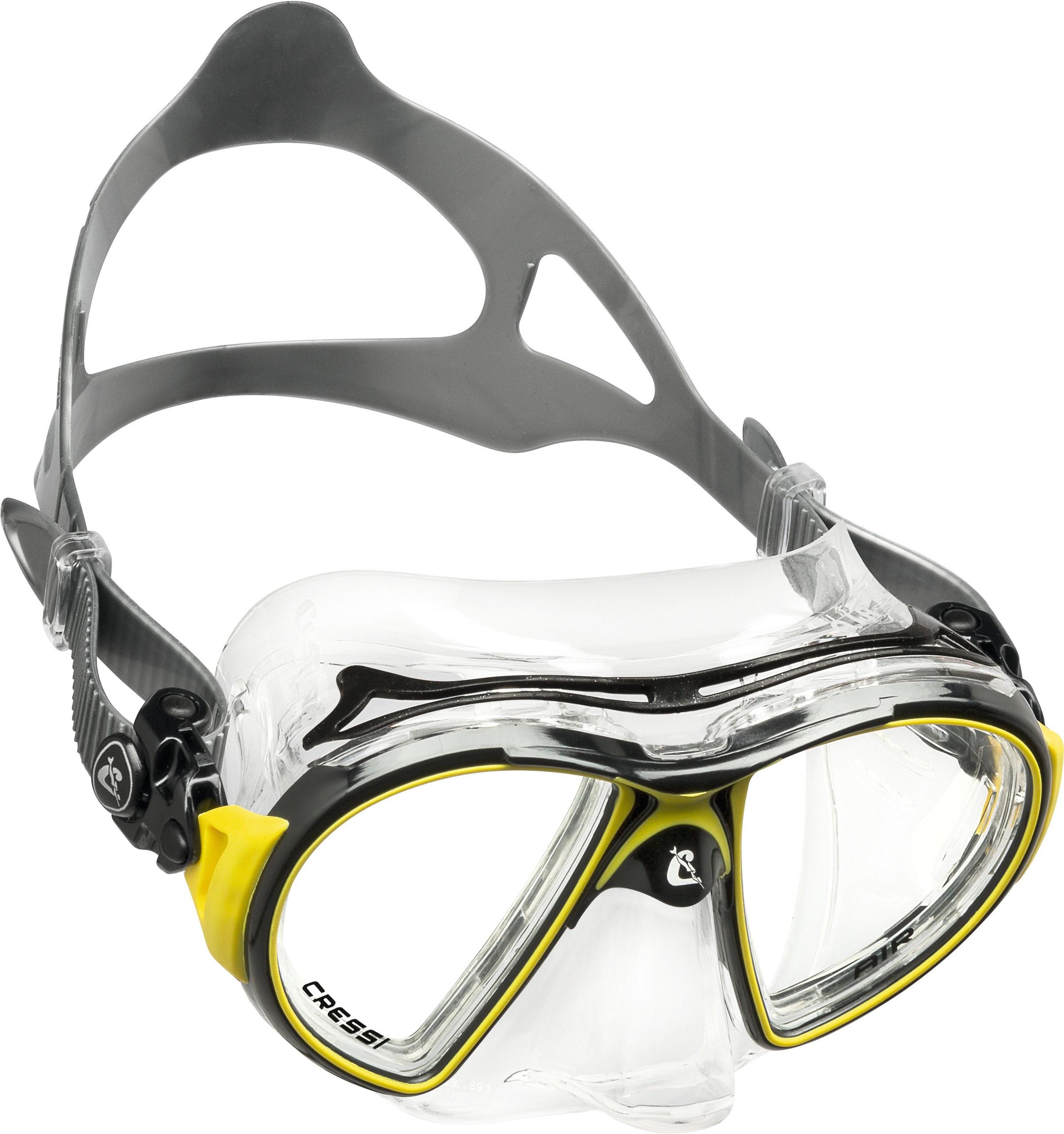 Cressi Air gelb Maske