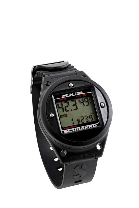 Scubapro Tiefenmesser Digital 330 im Armband