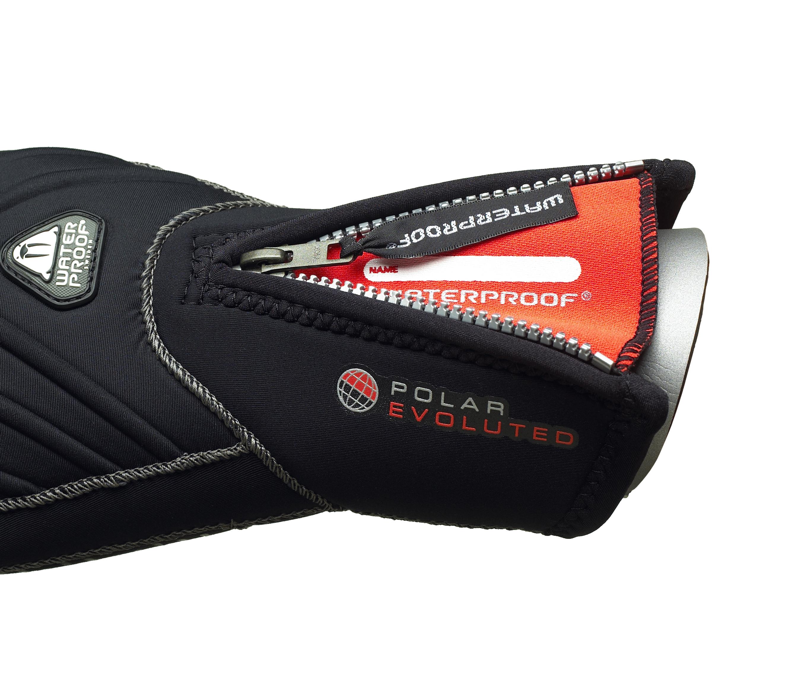 Waterproof G1 7MM 3-FINGER SEMIDRY